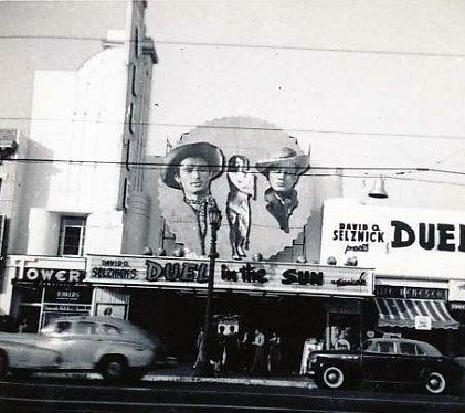 VOGUE Theatre; Los Angeles, California; 1945.