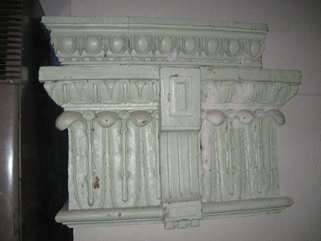 decorative detail - balcony area
