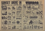 Sunset Drive In Movie Calendar