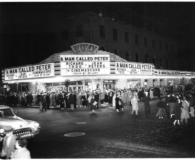A MAN CALLED PETER world premiere presentation 1955