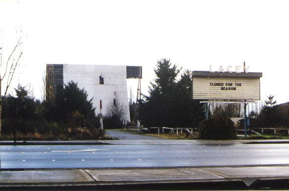 Marquee and screen tower damage in 1981