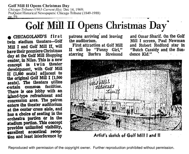 Golf Mill Opening