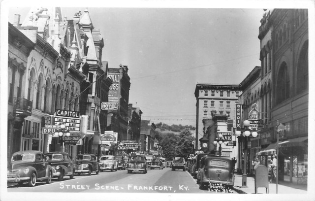 CAPITOL Theatre postcard view; Frankfort, Kentucky.