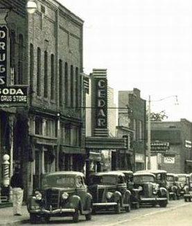 CEDAR Theatre; Manistque, Michigan.