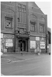 Palace Cinema Ebbw Vale, prior to demolition. Circa 1972