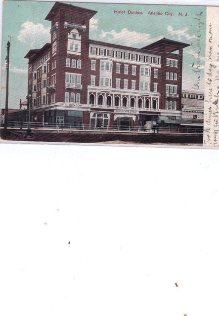 Hotel Dunlop, Savoy circa 1904