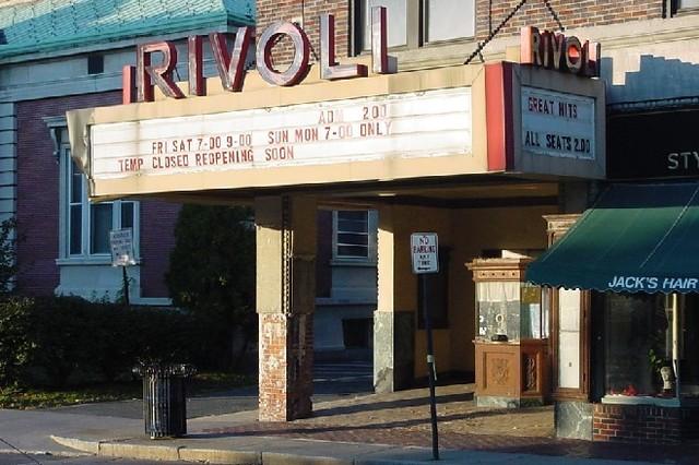 RIVOLI Theatre; Chicopee, Massachusetts.