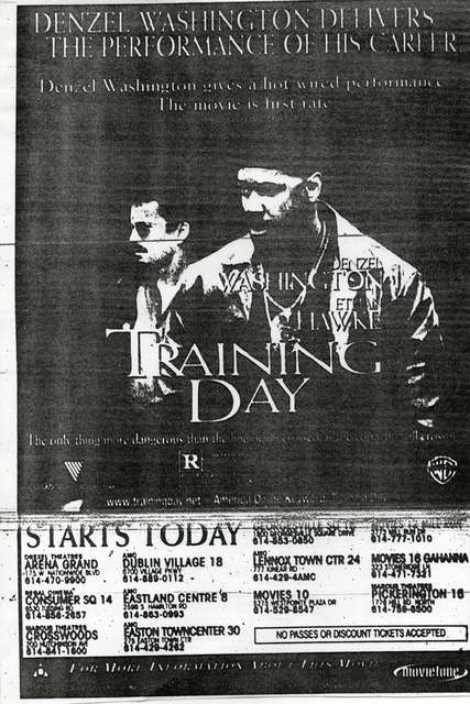 """Training Day"""