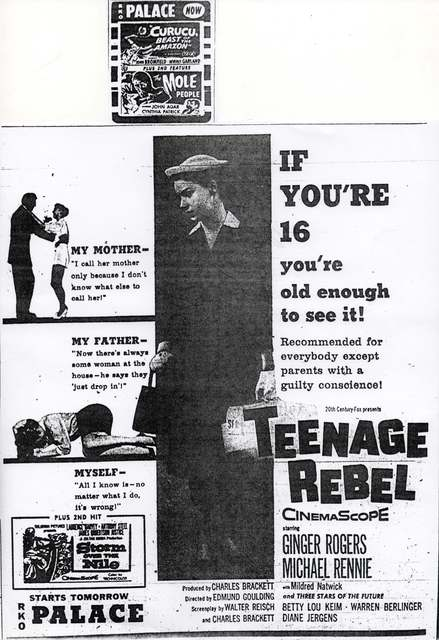 """Teenage Rebel"""