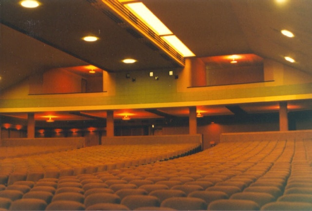 Auditorium before multiplex