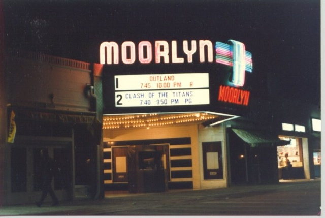 Exterior in 1980s