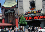 "<p>Grauman's Chinese Theatre 1977, ""Star Wars"" is the feature attraction.</p>"