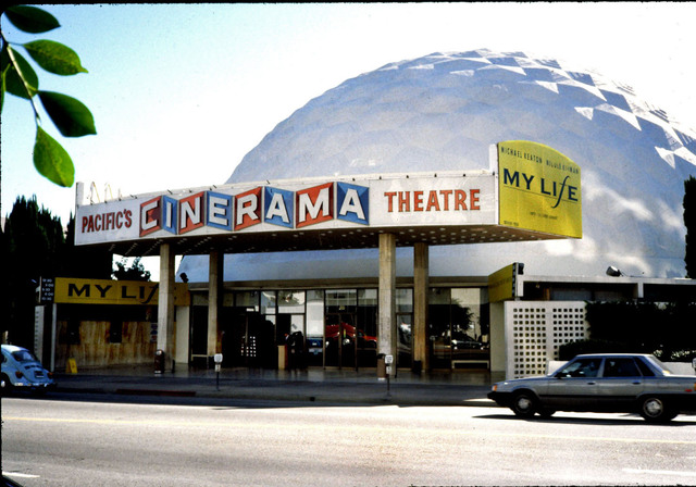 Cinerama Dome Hollywood 1983