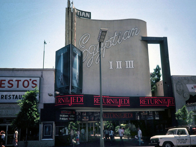 Egyptian Theatre Hollywood 1983
