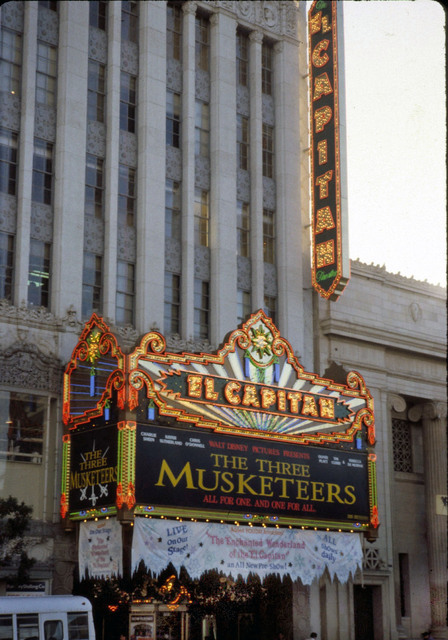 El Capitan Theatre Hollywood 1993