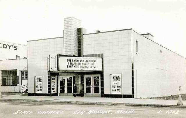 STATE (ELK RAPIDS) Theatre; Elk Rapids, Michigan.