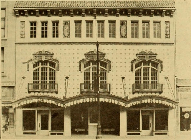 Wichita Theatre, Wichita,Kansas, Facade, 1919