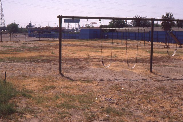 this once was a real nice play ground