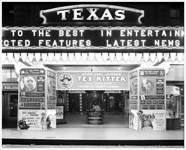 TEXAS Theatre; San Antonio, Texas.