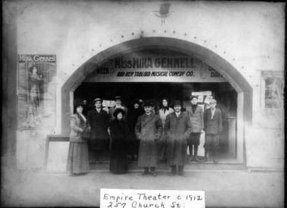 EMPIRE (AMHERST) Theatre; Amherst, Ohio, 1912