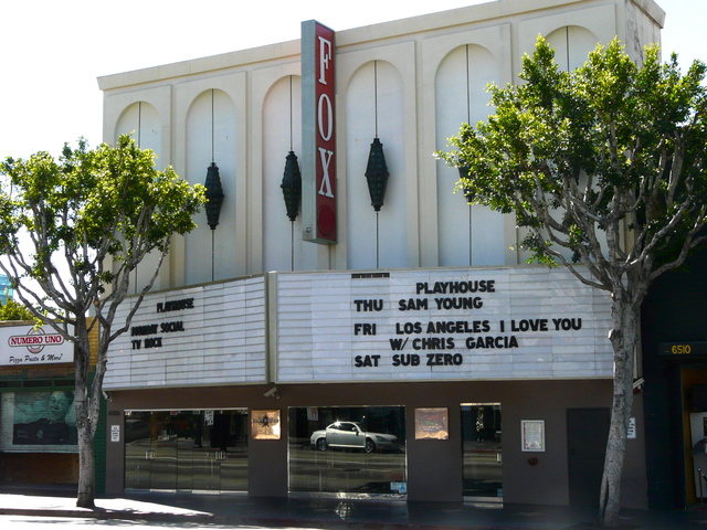 Fox Theatre Hollywood 2011