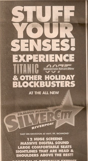 Opening day ad December 19, 1997