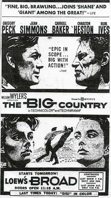 """The Big Country"""