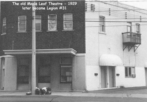The Maple Leaf Theatre with Marquee (Late 70s?)