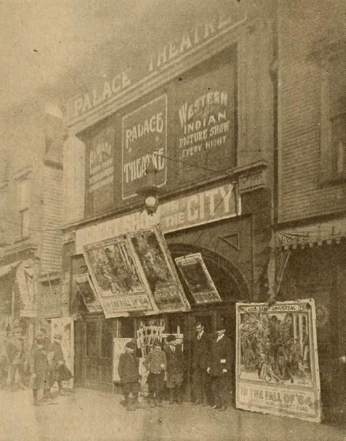 Palace Theatre, Chicago, ca. 1914