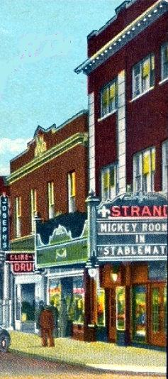 STRAND Theatre; West Frankfort, Illinois.