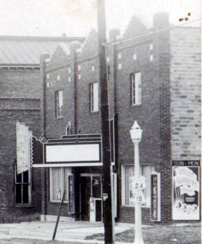 MAIN STREET Theatre; Paris, Missouri.