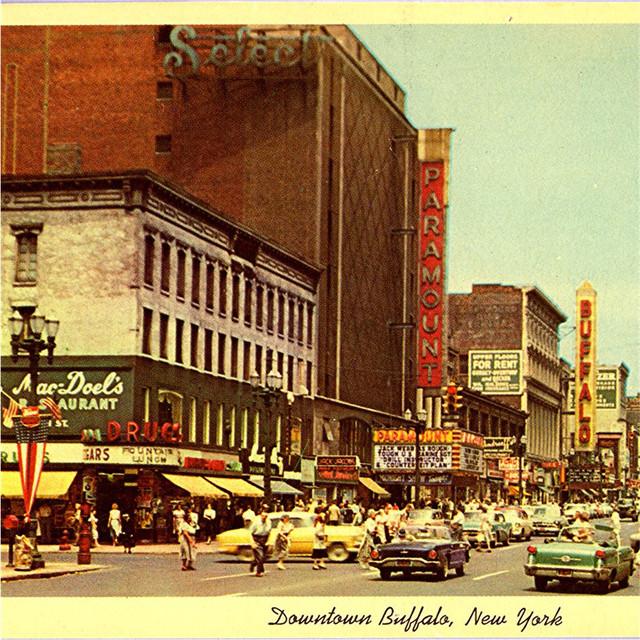PARAMOUNT Theatre; Buffalo, New York.