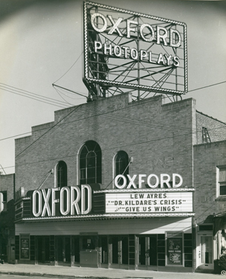 Oxford Theater  1941