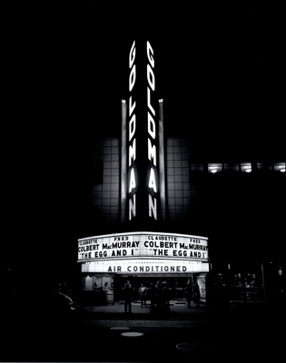 Goldman Theater 1947