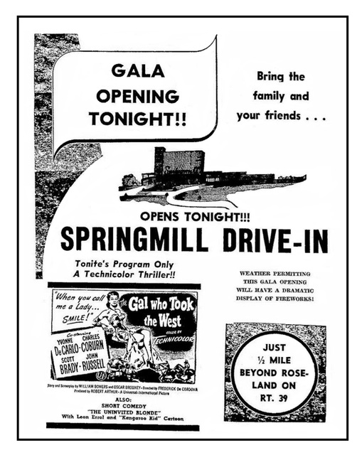 Springmill Drive-In
