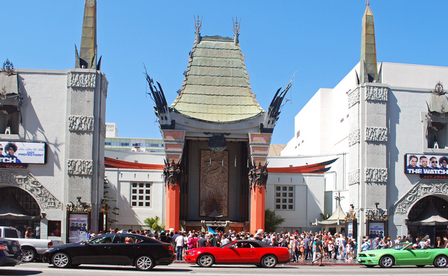 Tcl Chinese Theatre In Los Angeles Ca Cinema Treasures