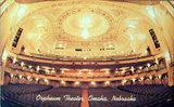 ORPHEUM Theatre; Omaha, Nebraska.