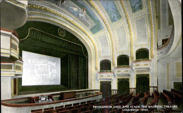 MAJESTIC Theatre; Columbus, Ohio.