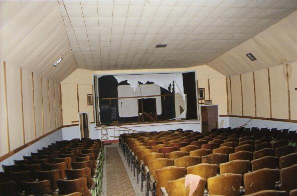 Auditorium interior looking towards the stage