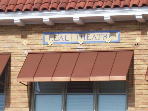 Leal Theatre. My Grand Great Father's Name in lights............