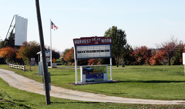 Harvest Moon Drive-In, Gibson City, IL