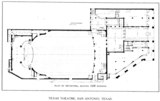 Texas Theatre, Dallas - Floor Plan - Main Floor