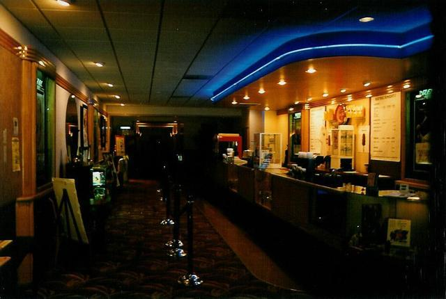 Drexel Theater lobby - Cincinnati, OH 8/96