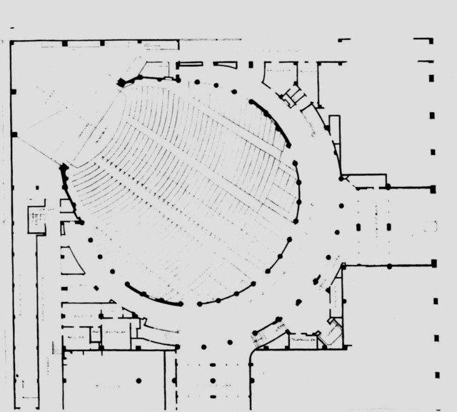 Hollywood Pacific Theatre - Floor Plan Main Level