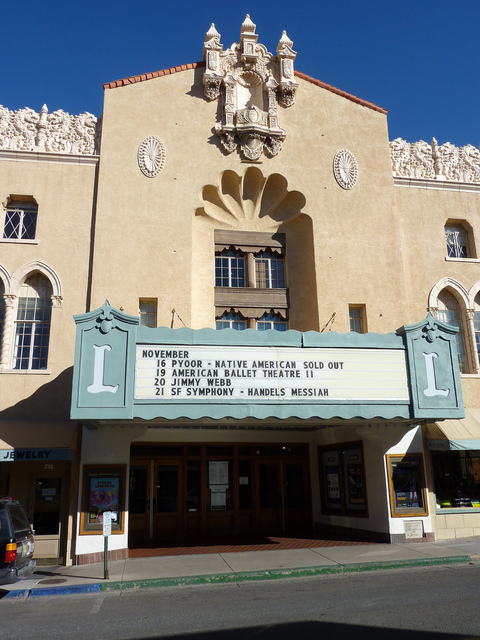 Lensic Performing Arts Center - November, 2010