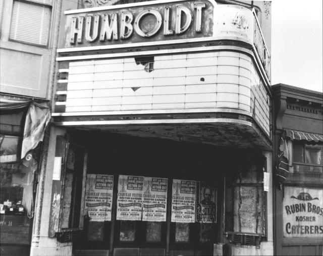 Humboldt Theatre, Roxbury, MA c. 1960