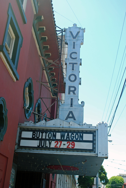 Victoria Theatre Sign