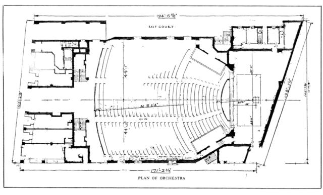 Shore (Loew's Coney Island) Theatre - Floor Plan