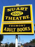 Nu-Art Theater Sign