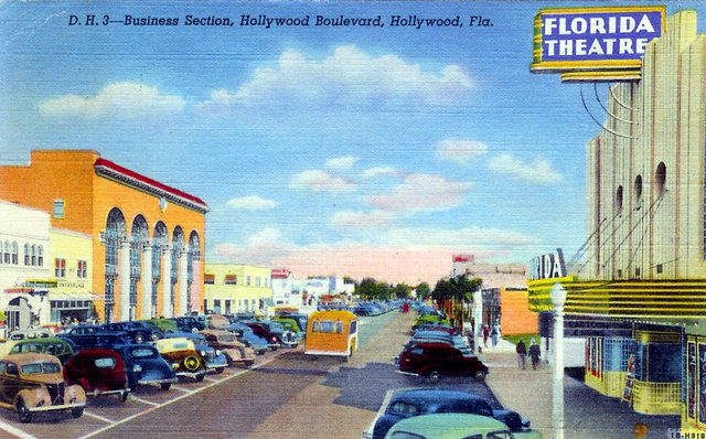 FLORIDA Theatre; Hollywood, Florida.
